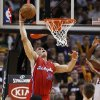 Los Angeles Clippers forward Blake Griffin (32) dunks the ball against the Miami Heat during the first half of an NBA basketball game, Sunday, Feb. 6, 2011, in Miami. (AP Photo/Wilfredo Lee)