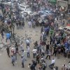 "Egyptian protesters gather outside the country\'s high court in Cairo, Egypt, Saturday, Nov. 24, 2012. Egypt's highest body of judges slammed on Saturday a recent decision by the president to grant himself near-absolute power, calling the move an ""unprecedented assault"" on the judiciary. The statement from the Supreme Judicial Council came as hundreds of demonstrators clashed with police outside a downtown Cairo courthouse. They were protesting the Thursday declaration by President Mohammed Morsi that courts could not overrule his decrees until a new constitution and parliament is in place, several months if not more in the future. (AP Photo/Mohammed Asad)"