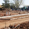 Streets were poured this week for Glenbrook Park, a new housing addition under way on the north side of NW 63 between Pannsylvania and Grand avenues in Nichols Hills. Developers say landscaping is next and that the 5 acres should be fully developed and ready for construction in December. PAUL B. SOUTHERLAND - The Oklahoman