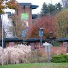 Photo -   This photo taken Sunday, Nov. 4, 2012 shows the exterior view of the front entrance of the Pittsburgh Zoo, where zoo officials say a young boy was killed after he fell into the exhibit that was home to a pack of African painted dogs, who pounced on the boy and mauled him. It's not clear whether he died from the fall or the attack, said Barbara Baker, president and CEO of the Pittsburgh Zoo & PPG Aquarium. (AP Photo/John Heller)