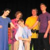 """The cast of """"You\'re A Good Man, Charlie Brown"""" as performed at the Oklahoma Christian Academy Christmas Cabaret. The production was presented under the direction of Mr. Chad Anderson. Community Photo By: Becky Campbell Submitted By: Nyla, Edmond"""