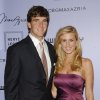 Photo - NFL quarterback Eli Manning and wife Abigal McGrew attend the Whitney Art Party and auction at Skylight on Tuesday, June 17, 2008 in New York. (AP Photo/Evan Agostini) ORG XMIT: NYEA210
