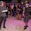 FILE - In this June 7, 2012 publicity file photo provided by Nintendo, Pete Wentz, left, and guests get an exclusive preview of Nintendo\'s Wii U during E3 in Los Angeles. (AP Photo/Nintendo,Todd Williamson)