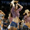 The Thunder Girls perform during an NBA basketball game between the Oklahoma City Thunder and the Minnesota Timberwolves at Chesapeake Energy Arena in Oklahoma City, Wednesday, Jan. 9, 2013. Oklahoma City won 106-84. Photo by Bryan Terry, The Oklahoman