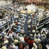 The auction arena was packed at Express Ranches in Yukon, Okla., during Express Ranch\'s Labor Day Auction, Monday, September 4, 2006. Photo by Paul Hellstern / The Oklahoman.