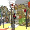 Plans for a children\'s hall at Science Museum Oklahoma include a climbing structure. Image provided