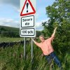 Photo - The Brits have a way with words — but don't take their traffic signs personally. (Photo by Rick Steves)