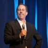 FILE - This June 30, 2012 file photo shows comedian Jerry Seinfeld performing at the David Lynch Foundation: A Night of Comedy honoring George Shapiro in Beverly Hills, Calif. Seinfeld will receive a Webby for Outstanding Comedic Performance for his hit Web series