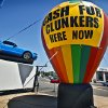 Cash for clunkers sign at David Stanley on NW 39th and May Avenue on Monday, July 20, 2009, in Oklahoma City, Okla. Photo by Chris Landsberger, The Oklahoman