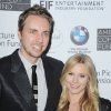 "Photo -   FILE - This June 15, 2012 file photo shows actors Dax Shepard, at left, and Kristen Bell at the 100th Anniversary of The Beverly Hills Hotel - Day 1 in Beverly Hills, Calif. The couple is expecting their first child in late spring, Bell's rep Marcel Pariseau confirms. Shepard, 37, appears on NBC's drama ""Parenthood"" while 32-year-old Bell has a role on Showtime's ""House of Lies"" also starring Don Cheadle. She also narrates ""Gossip Girl"" as the show's title character. They also co-starred in the film ""Hit and Run"" this summer which Shepard also wrote and directed. (Photo by Katy Winn/Invision/AP, file)"