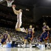 OU\'s Blake Griffin goes to the basket during a first round game of the men\'s NCAA tournament between Oklahoma and Morgan State in Kansas City, Mo., Thursday, March 19, 2009. PHOTO BY BRYAN TERRY, THE OKLAHOMAN