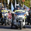 Patriot Guard Riders in the Veterans Day Parade in Norman Friday, Nov. 11, 2011. Photo by Paul B. Southerland, The Oklahoman