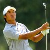 Photo - Gunn Yang, tees off on the 17th hole during the 2014 U.S. Amateur Championship at Atlanta Athletic Club on Sunday, Aug. 17, 2014, in Johns Creek, Ga. (AP Photo/Atlanta Journal-Constitution, Curtis Compton)  MARIETTA DAILY OUT; GWINNETT DAILY POST OUT; LOCAL TV OUT; WXIA-TV OUT; WGCL-TV OUT