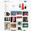 """This screenshot made Oct. 10, 2012, shows EBay\'s redesigned website meant to encourage visitors to browse and collect items they might want to buy later with something it calls the """"feed."""" The feature, reminiscent of popular sites like image-heavy Pinterest, shows users items based on things they purchased in the past or items they've clicked on the site. Shoppers can also edit their feed by adding or removing categories and individual items. (AP Photo/Ebay)"""