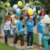 Participants walk along the sidewalk at the state Capitol in Oklahoma City, OK, Saturday, Sept. 13, 2008, during the Walk of Hope to increase awareness of women\'s reproductive system cancers. BY PAUL HELLSTERN, THE OKLAHOMAN