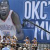 The Oklahoma City Thunder Girls perform during a rally for Kevin Durant\'s MVP announcement at the Thunder Community Events Center in Edmond, Tuesday May 06, 2014. Photo By Steve Gooch, The Oklahoman