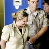 Photo - A jury found Raye Dawn Smith guilty and recommended a 27 year sentence for enabling child abuse  of her daughter, Kelsey., She was taken in handcuffs from the courtroom and led to a police car to be transported to jail a little after 5 Wednesday afternoon, July 18,  2007.    By Jim Beckel,  The Oklahoman.  ORG XMIT: KOD ORG XMIT: OKC0707181817547913