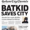 """This Friday, Nov. 15, 2013 image released by the San Francisco Chronicle shows a front page of the Gotham City Chronicle to honor Miles Scott, as Batkid. Scott was called into service on Friday morning by San Francisco Police Chief Greg Suhr to help fight crime, as San Francisco turned into Gotham City as city officials helped fulfill the 5-year-old leukemia patient\'s wish to be """"Batkid,"""" The Greater Bay Area Make-A-Wish Foundation says. He was diagnosed with leukemia when he was 18 months old, finished treatment in June and is now in remission, KGO-TV reported. (AP Photo/San Francisco Chronicle)"""