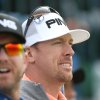 Hunter Mahan of the US prepares to plays off the 11th tee during a practice round ahead of the British Open Golf championship at the Royal Liverpool golf club, Hoylake, England, Tuesday July 15, 2014. The British Open starts on Thursday July 17. (AP Photo/Peter Morrison)