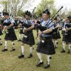 Photo -  Members of the Oklahoma Scottish Pipes and Drums perform during the 2013 Iron Thistle Scottish Heritage Festival in Yukon. Photo by Paul Hellstern, The Oklahoman Archives  <strong>PAUL HELLSTERN -   </strong>