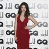 Alison Brie arrives for the GQ Men of the Year Awards at a central London venue, Tuesday, Sept. 4, 2012. (AP Photo/Jonathan Short)