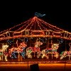 The Holiday Lights Spectacular in Midwest City, Okla., will be open through Dec. 30, 2008. By John Clanton, The Oklahoman