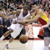 Photo - Los Angeles Clippers' Chris Paul, left, and Houston Rockets' Jeremy Lin look at a loose ball during the first half of an NBA basketball game on Monday, Nov. 4, 2013, in Los Angeles. (AP Photo/Jae C. Hong)