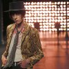 Photo - A model wears a creation by French-born designer Hedi Slimane for Saint Laurent men's Spring-Summer 2015 fashion collection, presented in Paris, Sunday, June 29, 2014. (AP Photo/Jacques Brinon)