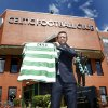 Photo - Ronny Deila is unveiled as the new Celtic manager during a photo call at Celtic Park, Glasgow, Friday, June 6, 2014. Norwegian coach Ronny Deila has been hired as the new manger of Scottish champion Celtic. The 38-year-old Deila joins the Glasgow club on a 12-month rolling contract from Norwegian side Stromsgodset. He guided the club to its first Norwegian league title in 43 years last season. Deila takes over at Celtic from Neil Lennon, who quit last month after winning five trophies in four years. (AP Photo/Danny Lawson, PA Wire)     UNITED KINGDOM OUT    -    NO SALES    -    NO ARCHIVES