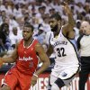 Photo -   Los Angeles Clippers guard Chris Paul (3) drives past Memphis Grizzlies guard O. J. Mayo (32) in the first half of Game 5 of a first-round NBA basketball playoff series, Wednesday, May 9, 2012, in Memphis, Tenn. (AP Photo/Mark Humphrey)