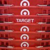 Photo - FILE - In this May 20, 2009 file photo, shopping baskets are stacked at a Chicago area Target store. Target says that about 40 million credit and debit card accounts customers may have been affected by a data breach that occurred at its U.S. stores between Nov. 27, 2013, and Dec. 15, 2013. (AP Photo/Charles Rex Arbogast, File)