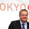 Photo - International Olympic Committee (IOC) Vice President John Coates attends the IOC/ TOKYO 2020 joint press conference in Tokyo, Friday, April 4, 2014. Coates and other IOC officials are in Tokyo for a two-day IOC-Tokyo 2020 First Project Review. (AP Photo/Eugene Hoshiko)