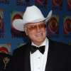 "Photo - Actor Larry Hagman from the television series ""Dallas,"" arrives at CBS's 75th anniversary celebration Sunday, Nov. 2, 2003, in New York. (AP Photo/Louis Lanzano)"