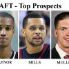 ** FOR USE AS DESIRED WITH NBA DRAFT STORIES ** FILE - From left are NBA Draft prospects Ty Lawson, North Carolina, in 2009; Eric Maynor, Virginia Commonwealth, in 2007; Patrick Mills, Saint Mary\'s, in 2009; B.J. Mullens, Ohio Sate., in a recent undated handout; and Jeff Pendergraph, Arizona State, in 2009. (AP Photo/HO and Files) ORG XMIT: NY242 Byron Mullens