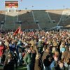 OSU football fans jam the playing field at the end of OSU\'s upset of OU Saturday, Nov. 11, 1995, in Norman. OSU won, 12-0. Photo by Jim Beckel, The Oklahoman