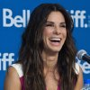 "Actress Sandra Bullock laughs during the press conference for ""Gravity"" at the 2013 Toronto International Film Festival in Toronto on Monday, Sept. 9, 2013. (AP Photo/The Canadian Press, Galit Rodan) ORG XMIT: GYR108"