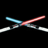 NINTENDO WII REMOTE / LIGHT SABER: Thrustmaster: Glow Saber Duo Pack NW ORG XMIT: 0811201802571746