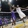 The Thunder\'s Royal Ivey (7) battles for a rebound with the Kings\' Donte Greene (20) during the NBA basketball game between the Oklahoma City Thunder and The Sacramento Kings on Tuesday, Feb. 15, 2011, Oklahoma City Okla. Photo by Chris Landsberger, The Oklahoman
