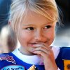 Kaci Howland, 6, is somewhat unsure what to do with the gooey substance in her mouth after taking a bite of a s\'more. She found a trash can and spit the food out. Howland is a Daisy in Troop 625. Edmond Girl Scouts made S\'mores, a popular winter snack, on a corner in downtown Edmond Saturday, Dec. 17, 2011, as a fundraiser for their troop. The Scouts, with Troop 625, used a griddle as their heat source to melt marshmallows on a skewer and sandwich it with a square of chocolate between two graham crackers. Money raised will help girls who want to join Scouts but require some financial assistance with the activity fees and various other costs involved in Scouting. This activity was part of a series of Downtown Edmond\' Christmas celebrations. Photo by Jim Beckel, The Oklahoman