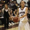 Photo - Edmond Memorial's Jenny Roy (30) during a girls high school basketball game between Edmond Memorial and Edmond North at Edmond Memorial High School, Tuesday, Dec. 20, 2011.  Photo by Garett Fisbeck, The Oklahoman ORG XMIT: KOD