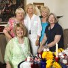 Cherry Kay Clifford, seated left, Okla. City, Barbara Brown, Okla. City, Guyanne Brannon, Choctaw, Dianna Waters, Okla. City, and BJ Robinson, seated right, Edmond, attending a Chi Omega luncheon in Oklahoma City Tuesday, June 22, 2010. Photo by Paul B. Southerland, The Oklahoman