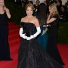 """Katie Couric attends The Metropolitan Museum of Art\'s Costume Institute benefit gala celebrating """"Charles James: Beyond Fashion"""" on Monday, May 5, 2014, in New York. (Photo by Evan Agostini/Invision/AP)"""