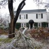 WINTER / COLD / WEATHER / ICE STORM 2007, DAMAGE: The home of Spencer Stone was heavily damaged in the Nichols Hills ice storm. ?, December 11, 2007. ORG XMIT: KOD