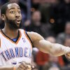 Thunder guard James Harden ranks seventh among rookies in scoring. Photo BY HUGH SCOTT, THE OKLAHOMAN