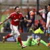 Photo - Nottingham Forest's Andy Reid celebrates scoring against West Ham United during the English FA Cup third round soccer match at the City Ground, Nottingham, England, Sunday Jan. 5, 2014. Nottingham Forest won the match 5-0. (AP Photo/PA, John Walton)