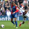 Photo - Crystal Palace's Jason Puncheon, left, battles for possession of the ball with Aston Villa's Fabian Delph, right, during their English Premier League soccer match at Selhurst Park, London, Saturday, April 12, 2014. (AP Photo/John Walton, PA Wire)     UNITED KINGDOM OUT   -   NO SALES   -   NO ARCHIVES