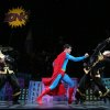 """Photo - This undated image released by Helene Davis Public Relations shows Edward Watts as Superman, center, in Encore's """"It's A Bird It's A Plane It's Superman,"""" performing through March 24 at New York City Center in New York. (AP Photo/Helene Davis Public Relations, Joan Marcus)"""