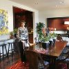 Mary Jo Archer shows the dining room she decorated in one of the townhouses at the Brownstones at Maywood Park in downtown Oklahoma City, OK, Friday, April 18, 2008. BY PAUL HELLSTERN, THE OKLAHOMAN