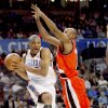 Oklahoma City\'s Russell Westbrook goes by Portland\'s Travis Outlaw during the NBA basketball game between the Oklahoma City Thunder and the Portland Trail Blazers at the Ford Center in Oklahoma City, Friday, April 3, 2009. Photo by Bryan Terry, The Oklahoman ORG XMIT: KOD