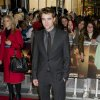 British actor Robert Pattinson arrives for the UK premiere of \'Twilight Breaking Dawn Part 1\' at a central London venue, Wednesday, Nov. 16, 2011. (AP Photo/Jonathan Short) ORG XMIT: LJS106